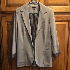 Women's grey blazer size medium